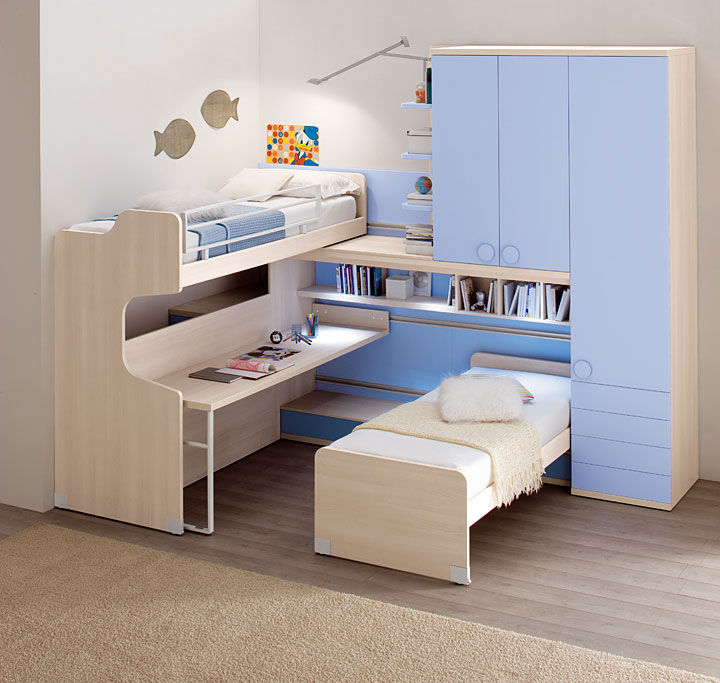 chambre pour enfant casamia meubles cuisines lits canap s italiens. Black Bedroom Furniture Sets. Home Design Ideas